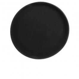 Taca antypoślizgowa powlekana kauczukiem, okrągła, średnica 28 cm, BBM 68428