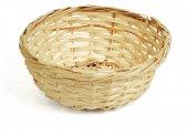 Koszyk wiklinowy na pieczywo, okrągły, średnica 17cm, wysokość 6cm, naturalny, XANTIA 89004