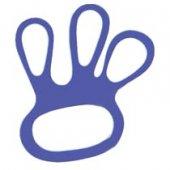 Mocowanie rękawicy, niebieskie, opakowanie 100 sztuk