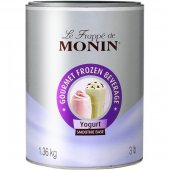 Baza jogurtowa do frappe MONIN YOGHURT SMOOTHIE BASE, waga 1,36kg