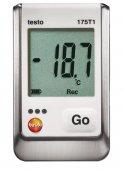 Termometr cyfrowy, 1-kanałowy rejestrator temperatury z sensorem wewnętrznym, TESTO 175 T1