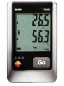 Higrometr wielofunkcyjny, 4-kanałowy rejestrator temperatury i wilgotności, TESTO 176 H1