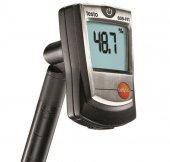 Termohigrometr cyfrowy z długą sondą pomiarową, wilgotnościomierz powietrza, TESTO 605-H1