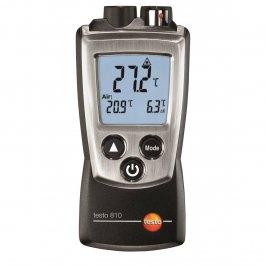 Termometr bezdotykowy z1-punktowym celownikiem laserowym isensorem wewn. NTC, 2kanały, TESTO 810