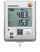 Bezprzewodowy rejestrator Wi-Fi z wewnętrznym czujnikiem temp. i wilgotności, TESTO Saveris 2-H1