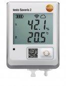 Rejestrator Wi-Fi z gniazdem czujnika zewnętrznego temperatury i wilgotności, TESTO Saveris 2-H2