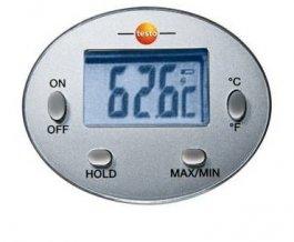 Minitermometr wodoodporny, zsondą pomiarową długości 120mm, TESTO MINI