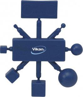 Zestaw testowy do sprawdzania detektorów metali, granatowy, VIKAN 111199