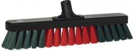 Miotła garażowa, szczotka warsztatowa do zamiatania, twarda, czarna, 440 mm, VIKAN TRANSPORT 311552