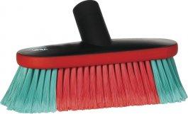 Szczotka samochodowa do mycia zdoprowadzeniem wody, czarna, 230 mm, VIKAN TRANSPORT 526952