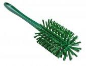 Szczotka do czyszczenia rur z uchwytem, średnio twarda, zielona, Ø90x430 mm, VIKAN 5381902