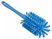 Szczotka do czyszczenia rur z uchwytem, średnio twarda, niebieska, Ø90x430 mm, VIKAN 5381903