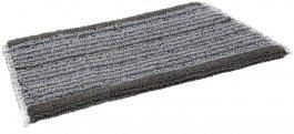 Mop DampDry 31, do czyszczenia na sucho lub wilgotno, na rzepy, szary, 250 mm, VIKAN 547625