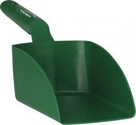 Szufelka średnia, czerpak, miarka zuchwytem, zielona, 1litr, VIKAN 56752
