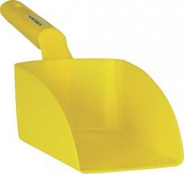 Szufelka średnia, czerpak, miarka zuchwytem, żółta, 1litr, VIKAN 56756