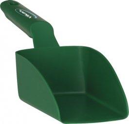 Szufelka mała, czerpak, miarka zuchwytem, zielona, 0,5 litra, VIKAN 56772