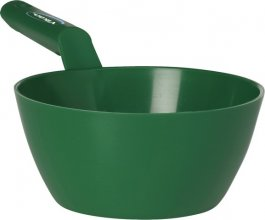 Czerpak okrągły zpolipropylenu, zielony, pojemność 1litr, VIKAN 56852