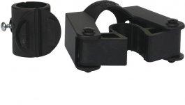 Uchwyt do styla ośrednicy 25-35 mm, zzaciskiem 22 mm, do wózka Compact Plus, czarny, VIKAN 583010