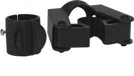 Uchwyt do styla ośrednicy 15-20 mm, zzaciskiem 28 mm, do wózka Slimliner, czarny, VIKAN 583014