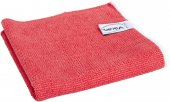 Ściereczka z mikrofibry, ścierka do sprzątania, czerwona, 32x32 cm, VIKAN 691014