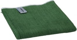 Ściereczka zmikrofibry, ścierka do sprzątania, zielona, 32x32 cm, VIKAN 691132
