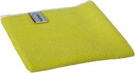 Ściereczka zmikrofibry, ścierka do sprzątania, żółta, 40x40 cm, VIKAN 691146