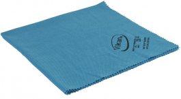 Ściereczka zmikrofibry do czyszczenia luster, szyb, niebieska, 40x40 cm, VIKAN 691543