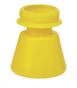 Zapasowy pojemnik do pianownicy 9301 i9305, żółty, 1,4 litra, VIKAN 93106