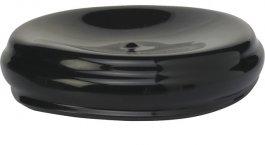 Pokrywa winylowa do pojemnika 9310 i9311, czarna, 110 mm, VIKAN 93189