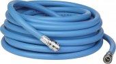 Wąż PCV do ciepłej wody, 1/2 cala, niebieski, 15 metrów, VIKAN 93363