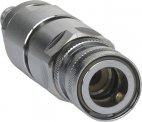 Złączka przeciwzwrotna 1/2 cala, chromowana, mosiężna, 135 mm, VIKAN 9340