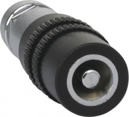 """Regulowana dysza natryskowa 1/2"""", do pistoletów do wody, czarna, 70 mm, VIKAN 9354"""