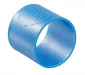 Pierścienie silikonowe do wtórnego kodowania kolorów, 5 sztuk, niebieskie, 26 mm, VIKAN 98013