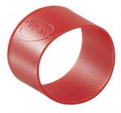 Pierścienie silikonowe do wtórnego kodowania kolorów, 5 sztuk, czerwone, 40 mm, VIKAN 98024