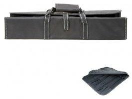 Etui tekstylne Exxent na noże, na 11 noży / elementów, puste