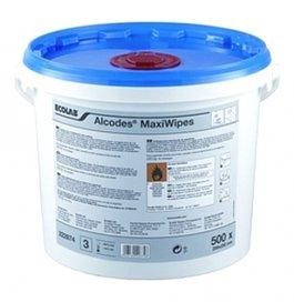 Chusteczki dezynfekcyjne Alcodes Maxi Wipes, opakowanie 500 sztuk