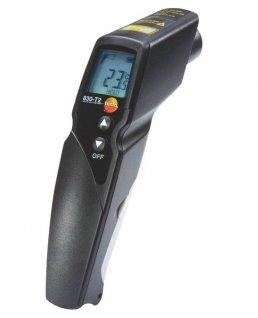 Pirometr, termometr bezdotykowy na podczerwień, 2punktowy, zgniazdem dla sondy typ K, TESTO 830-T2
