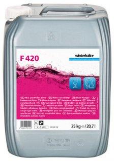 Detergent F420 bistro do szkła inaczyń, opakowanie 12 kg
