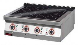 Kuchnia Elektryczna Indukcyjna 4 Polowa Nastawna 20 Kw Kromet 900ke 4i900