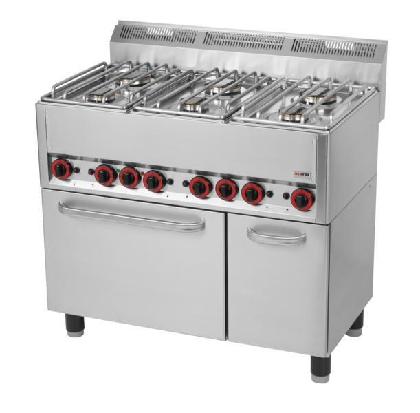Kuchnie gazowe z piekarnikiem  Kuchnia gazowa 6 palnikowa   -> Kuchnie Gazowe Do Zabudowy Z Piekarnikiem Elektrycznym
