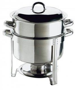 Tylko na zewnątrz Garnek ze stali nierdzewnej do podgrzewania zupy, poj. 13,5 litra OM88